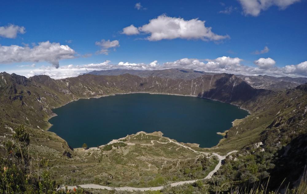 Laguna Quilotoa: um mar de cores no topo de um vulcão