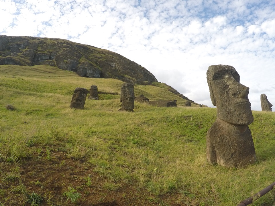 A situação de Rapa Nui (Ilha de Páscoa) em maio de 2015