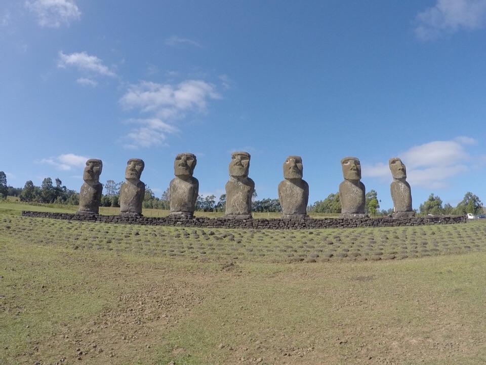 Rapa Nui: explorando a parte central da ilha