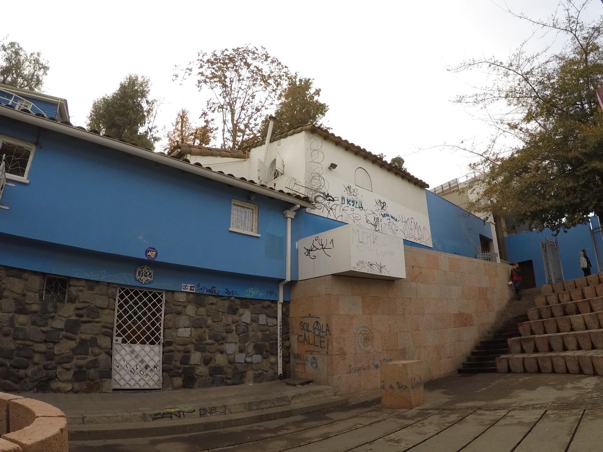 La Chascona: a casa de Pablo Neruda em Santiago