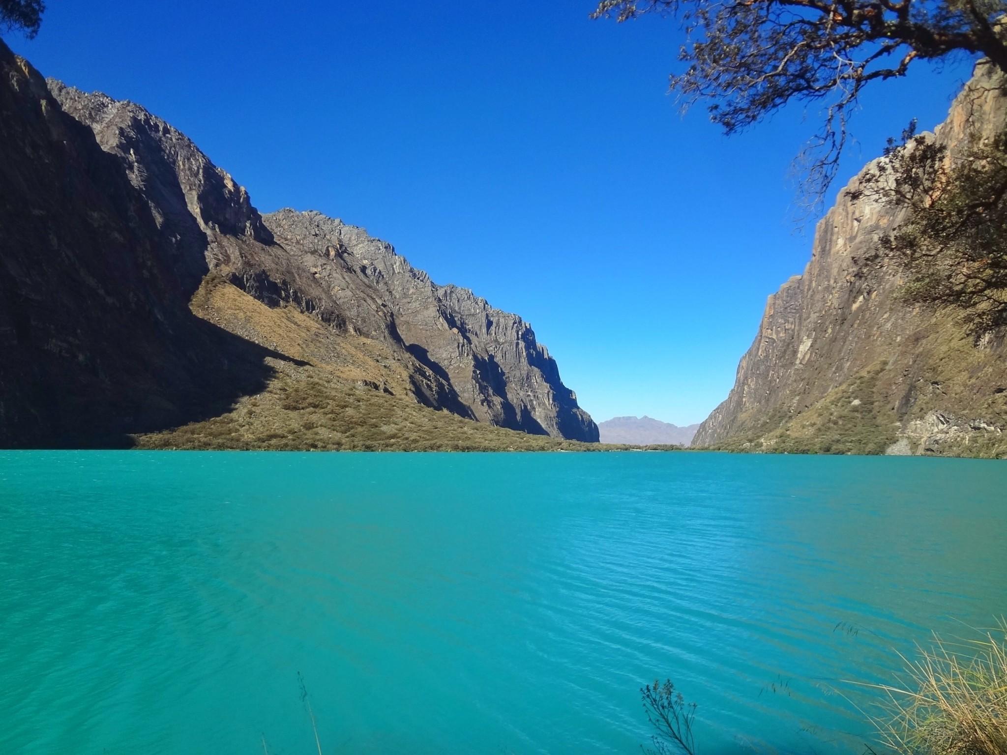 Laguna Llanganuco: paisagens lindas em Huaraz