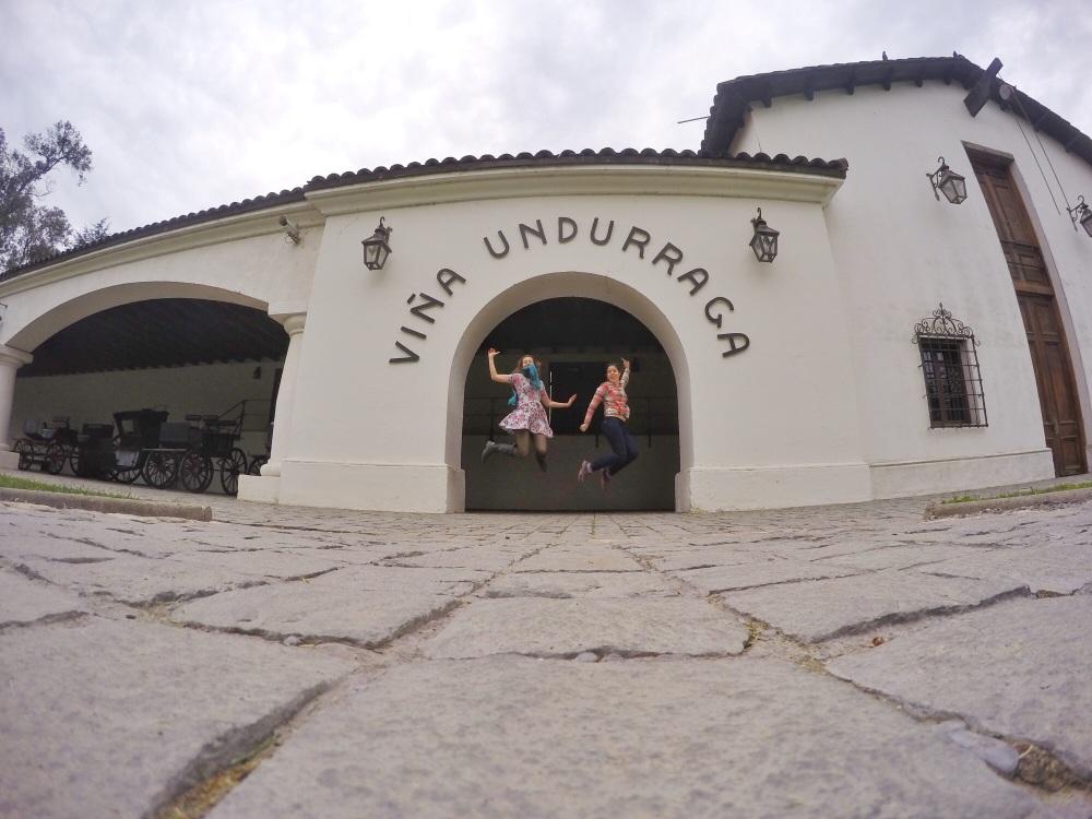 Como é a visita à vinícola Undurraga em Santiago?