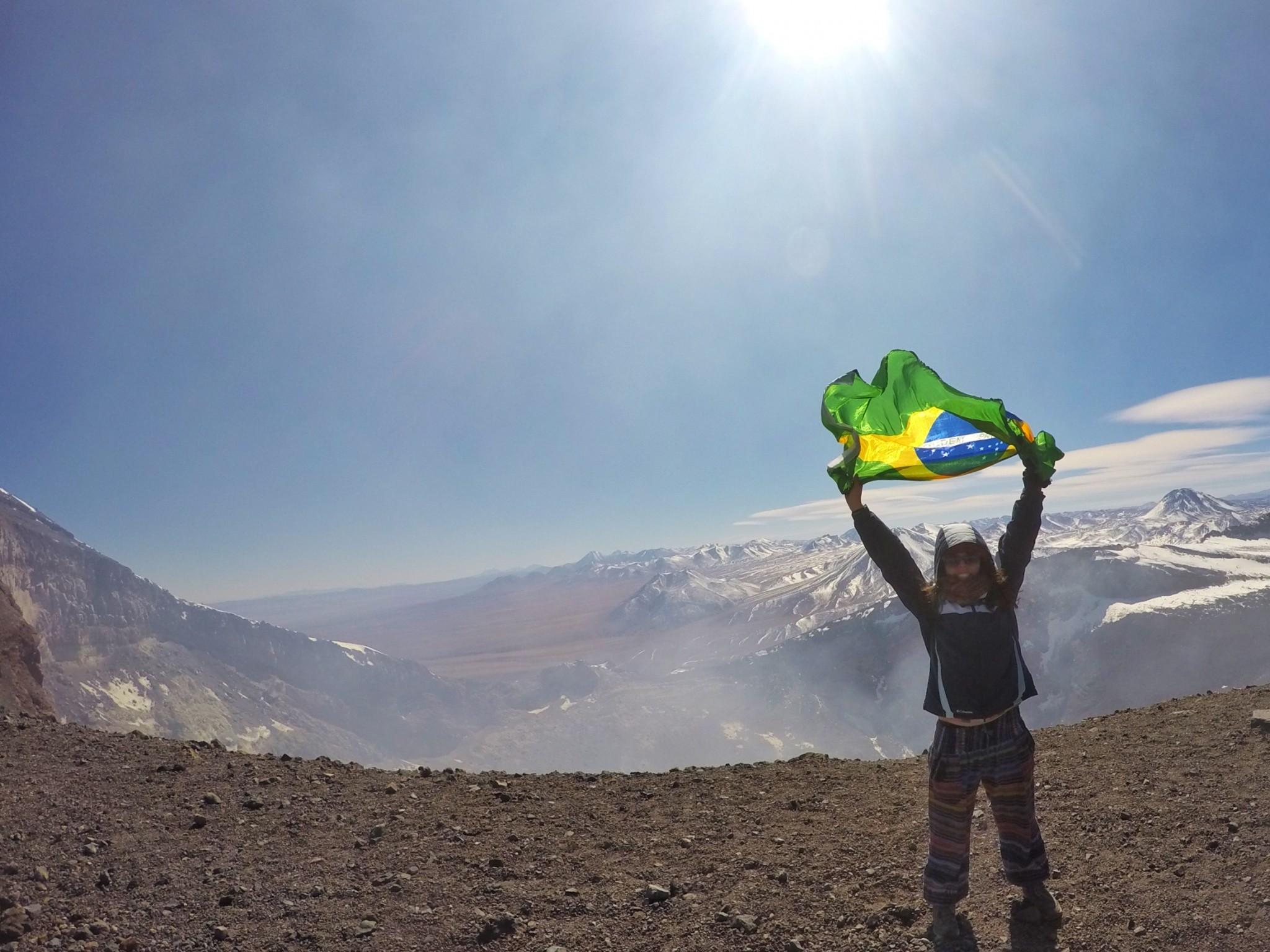 Vulcão Lascar: o segundo de muitos