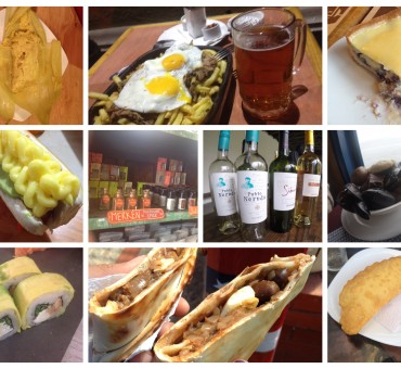 O que comer em Santiago?