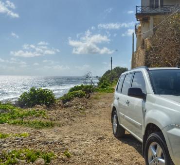 De carro por Barbados
